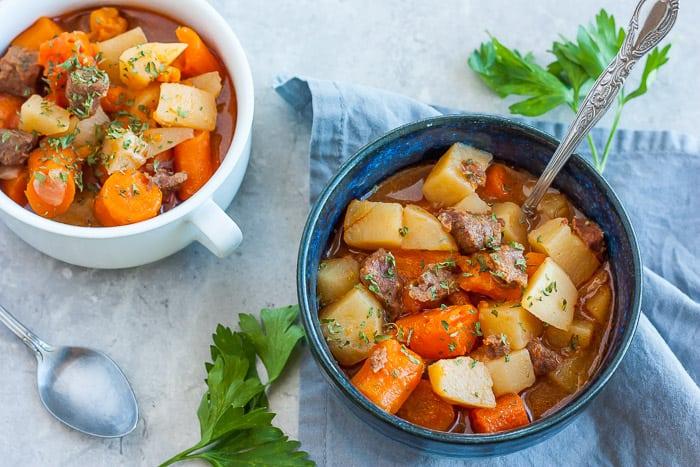 Instant Pot Beef Stew, Stew Recipe, Whole30, Gluten-Free