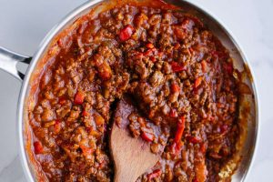 Sloppy joe, potatoes, kid-friendly recipe, paleo, whole30