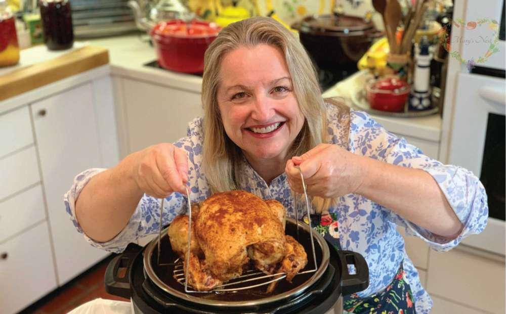 Whole Chicken, Instant Pot Recipe, Mary Shrader, Dry rub