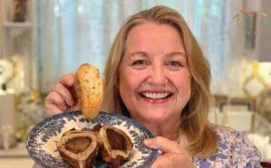 mary shrader, roasted bone marrow, healthy fats, featured chef