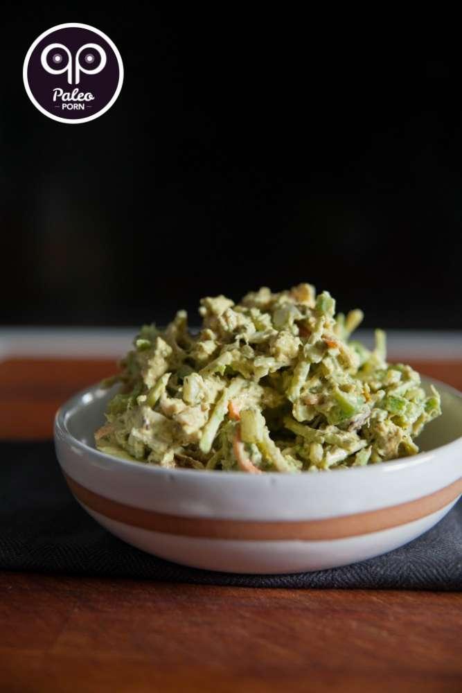 paleo, chicken salad, marla sarris, shredded chicken