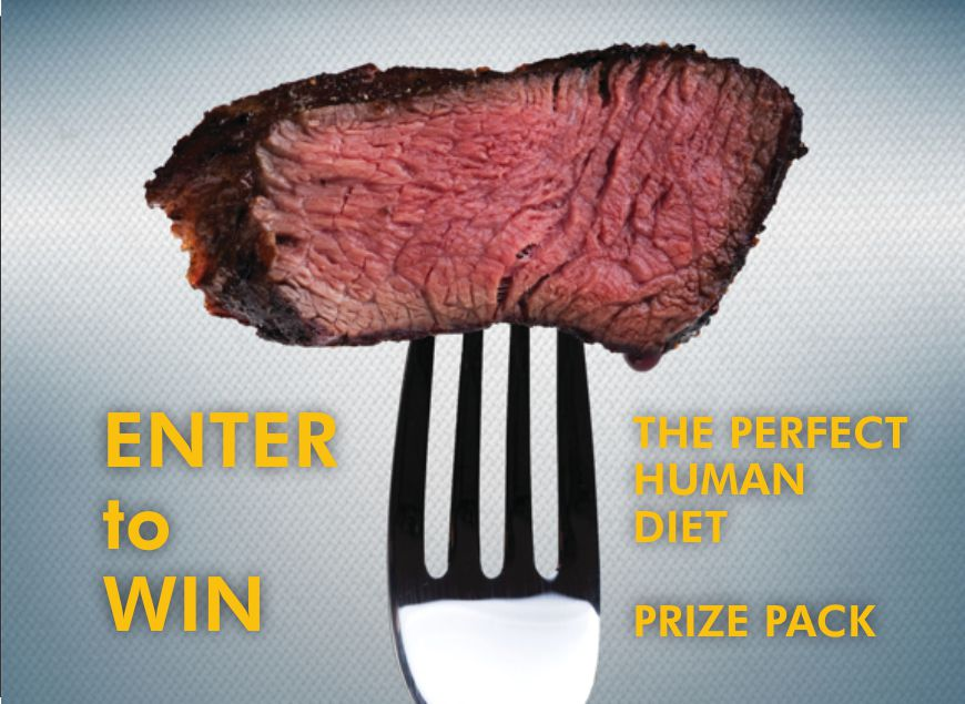 Enter To Win Perfect Human Diet Prize Pack + FREE Book