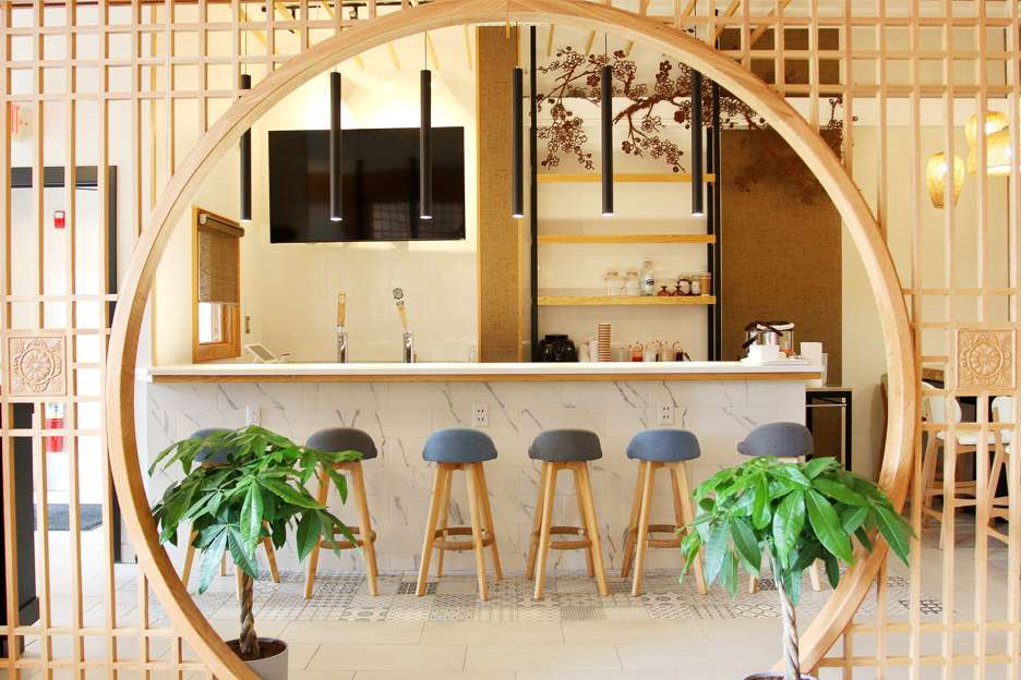Six Po Hot Pot Dining Area