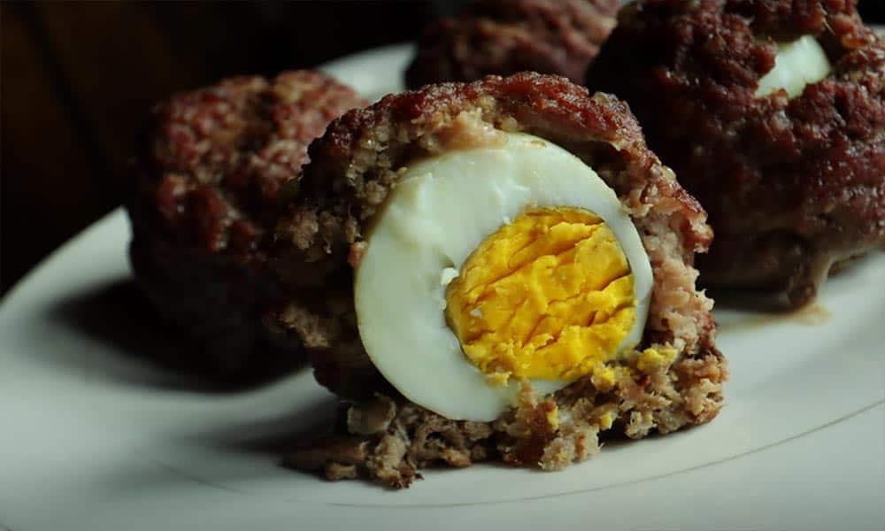 3-Ingredient Keto Scotch Eggs (No Pork)
