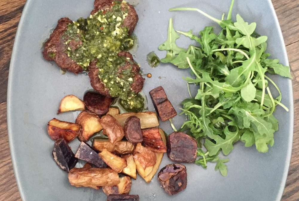 Juicy Chimichurri Bison Chorizo Sausage Recipe