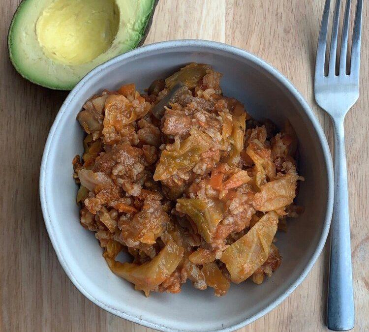Instant Pot Unstuffed Cabbages Recipe