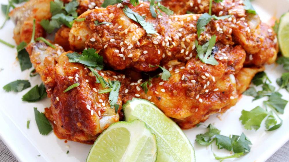 Whole30 Chili Garlic Hot Wings Recipe