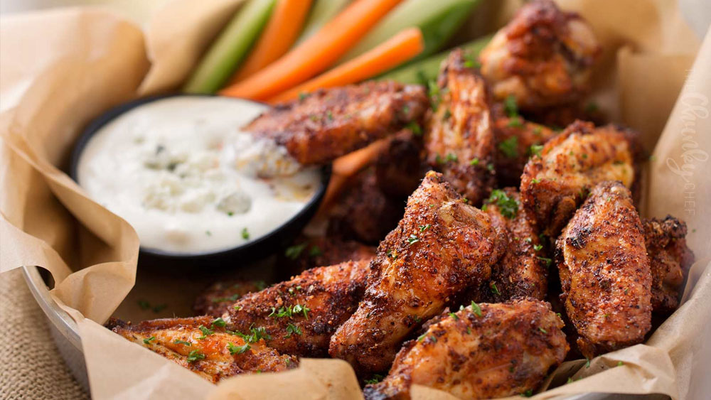 Whole30 Epic Dry Rubbed Baked Chicken Wings Recipe