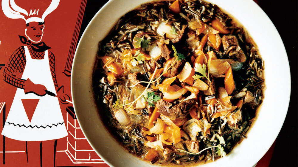 Hunter's Stew with Braised Beef and Wild Rice Recipe