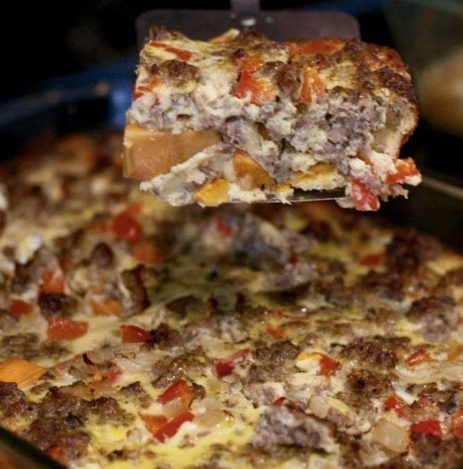 Whole30 Breakfast Casserole Recipe