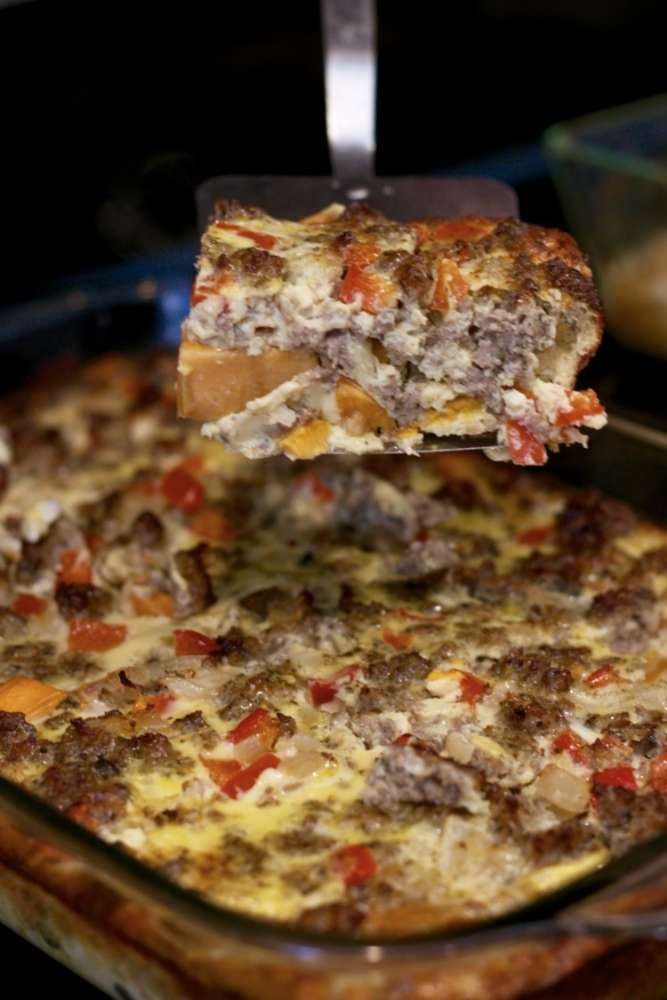 breakfast casserole, whole30