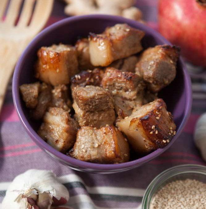 Honey-Glazed Pork Belly Recipe