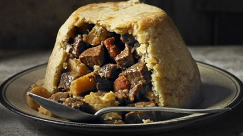 Beef, Ale & Parsnip Pudding Recipe