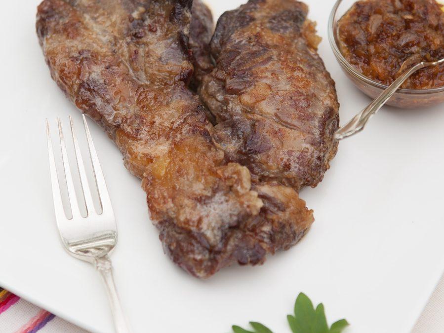 Spider Steak with Orange Recipe
