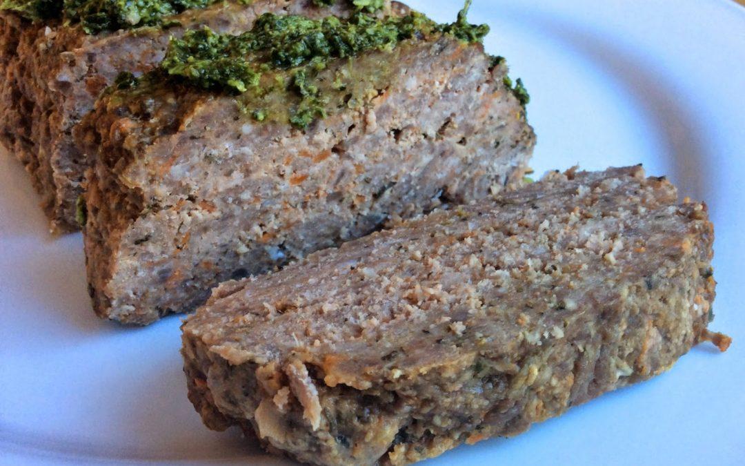 Italian Paleo Meatloaf Recipe