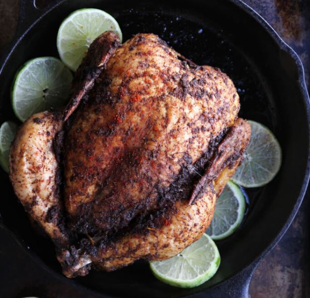 Chile Lime Roasted Chicken Recipe