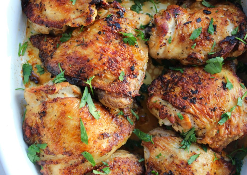 marinated chicken thighs