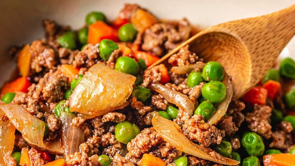 Easy Keto Ground Beef with Worcestershire Sauce Recipe
