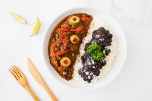 ropa vieja, cuban dish, recipe, chris gonzalez, grass-fed beef, chuck roast