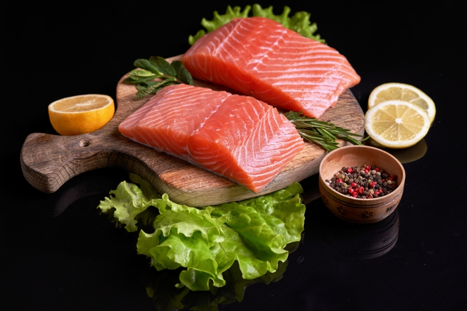 visceral fat, gut fungus, sockeye salmon
