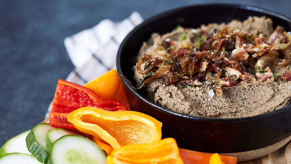 Keto Caramelized Onion and Bacon Liver Pate Recipe
