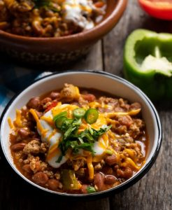 pumpkin chipotle chili, kevin rutherford, recipe, ground organ blend