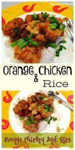 orange chicken and rice, chicken recipe, chicken dish