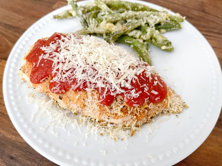 Healthy Chicken Parmesan, jillian vander ploeg, recipe, featured chef, gaps