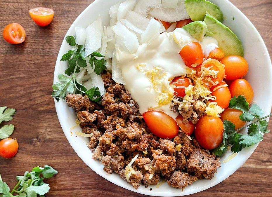 Healthy Taco Bowls Recipe