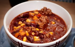chili, ground beef, party food, football recipes