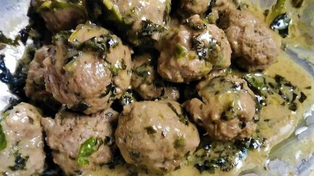 Grass-Fed Piccata Meatballs Recipe