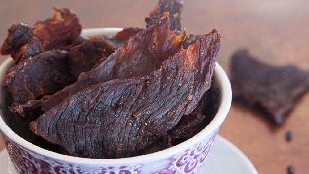 Homemade Smoky Grass-Fed Beef Jerky Recipe