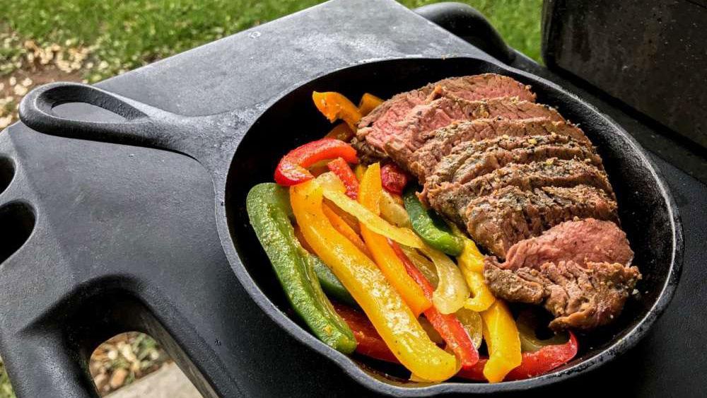 Grass-Fed Tri-Tip Fajitas Skillet Recipe
