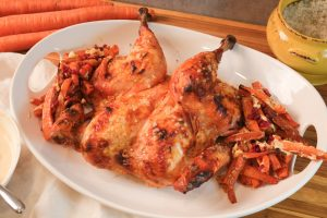 Spatchcock chicken, pastured poultry, whole chicken recipe