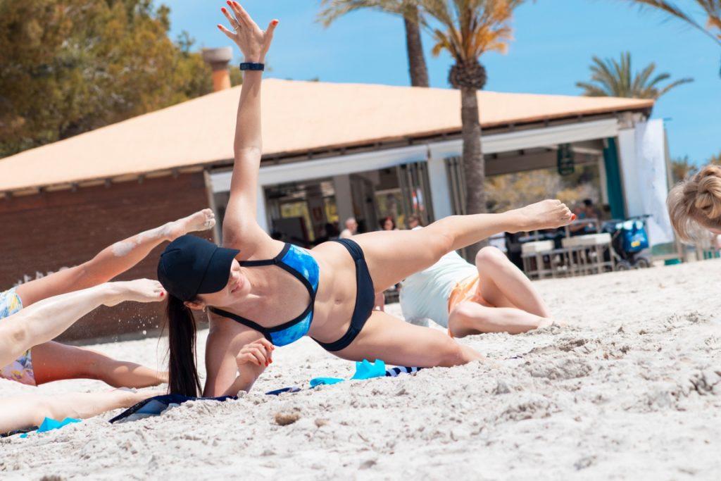 Beach Strip Training