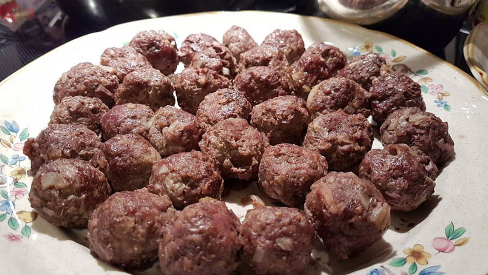 Elk Meatballs Recipe