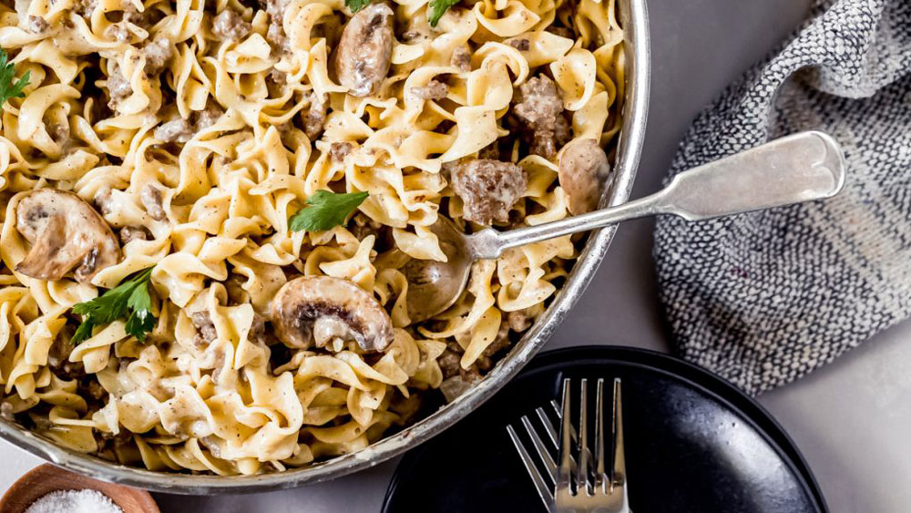 Ground Elk Stroganoff Recipe