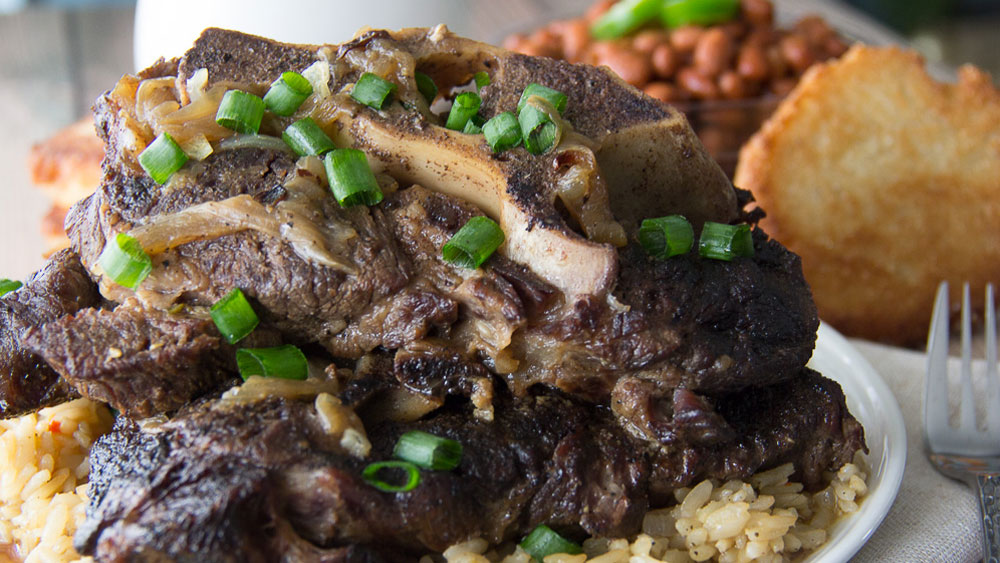Classic Southern Neckbones and Rice Recipe