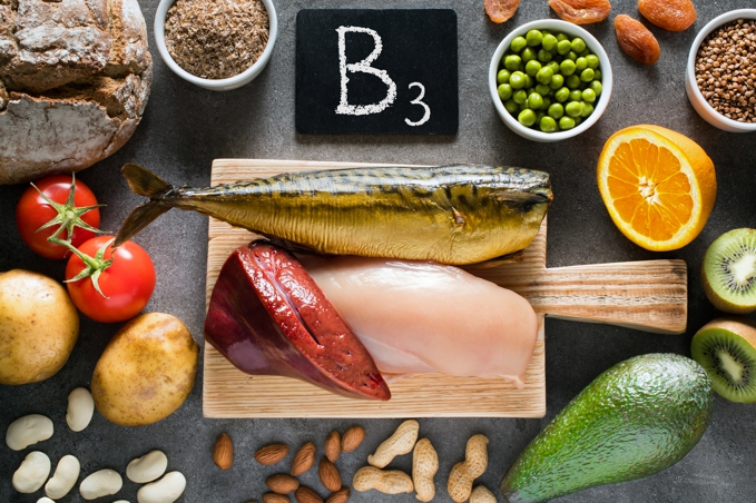 foods high in niacin, b3