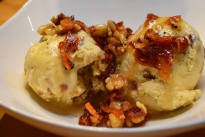 maple bacon walnut ice cream, sugar free maple bacon ice cream, sugar free, recipe
