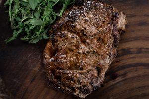 porcini aleppo steak, ribeye