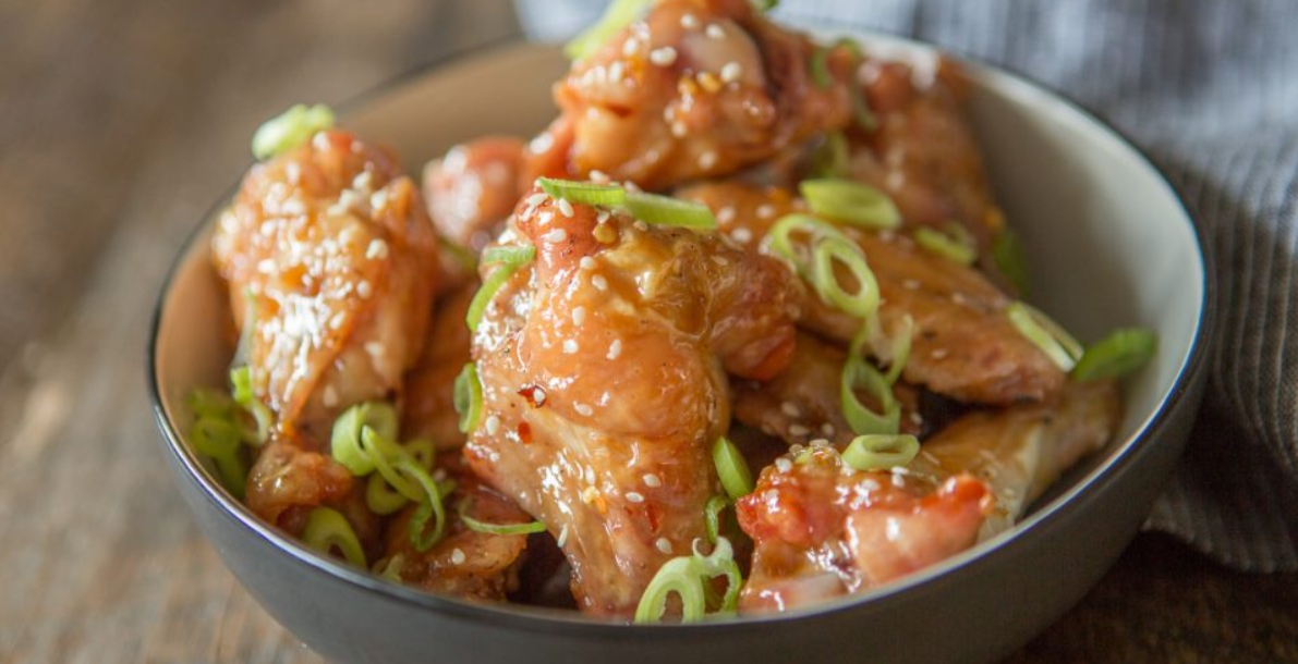 honey garlic chicken wings, bill and hayley, primal palate, pastured poultry