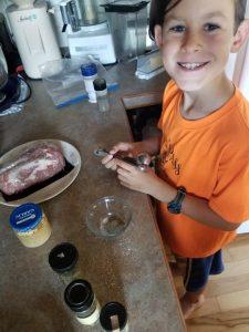 instant pot pork tenderloin, pork recipe, katie kimball